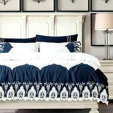blue bedding sets luxury best navy