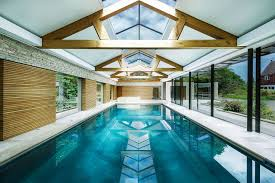 pool house. Expansive Contemporary Pool House Designed By Re Formay