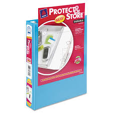 Avery 2 Inch Binder Mini Protect Store View Binder W Round Rings By Avery Ave23014