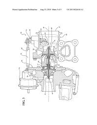 Turbocharger waste gate valve assembly wear reduction diagram