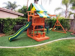 playset ideas backyard landscaping diy swingset kids