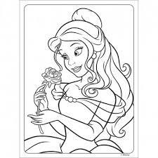 Block Para Colorear Pequeños Tilibra Princesas X 16 Hojas