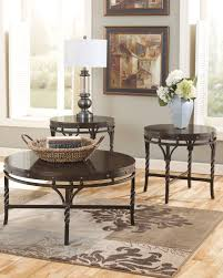 Nailhead Coffee Table Living Room Coolest Black Coffee And End Table Set Black Glass