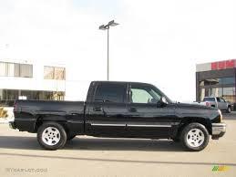 2005 Black Chevrolet Silverado 1500 LS Crew Cab #26399342 Photo #4 ...