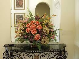 Silk Arrangements For Home Decor Interior Decoration Artificial Flower Arrangements For Entryway