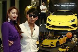 รวยจริงอะไรจริง! ดีเจเพชรจ้า ถอย Lamborghini คันใหม่ พร้อมคันจิ๋วให้น้อง ไทก้า - โพสต์ทูเดย์ ข่าวบันเทิง