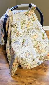 winnie the pooh car seat cover add a