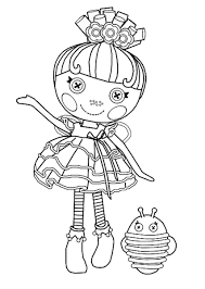 Small Picture Lalaloopsy Coloring Pages Colouring pages 25 Free Printable