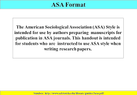 how to format research paper asa format example essay format sociology research paper asa format