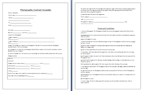Ms Word Photography Contract Archives Contract Templates