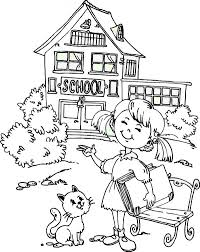 Going Back To School Coloring Page Get Coloring Pages