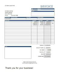 Free Excel Invoice Template Download Invoice Format Excel Free Download Excel Billing Template Excel