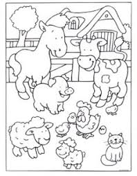 14 Best Farm Animals Images Farm Animals Coloring Pages For Kids