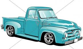 F 100 cartoon clipart - Clipart Collection | Ford pickup truck ...