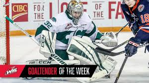 WHL GOALIE OF THE WEEK: Dustin Wolf – Everett Silvertips