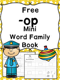 OP CVC Word Family Worksheets -Make a word family book!   Cvc word ...