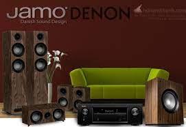 Amply Denon X550BT + Loa Jamo S807 + Sub Jamo S808