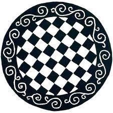 white round area rug black and white circle rug circle area rug new black and white white round area rug