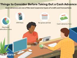 Check spelling or type a new query. Why You Should Avoid A Credit Card Cash Advance