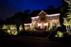 house outdoor landscape lighting