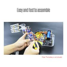 <b>Micro:bit</b> Mechanical Arm Smart <b>Robot</b> Car DIY Kit Support ...