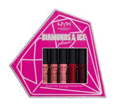 <b>NYX Professional Make Up</b> Diamonds & Ice Please Soft <b>Matte</b> Lip Set