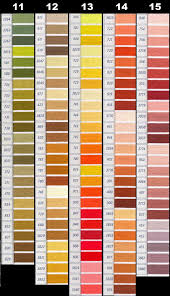 Dmc Color Chart 2018 Printable Dmc Floss Chart By Number Best Picture Of Chart Anyimage Org