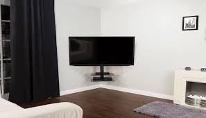 corner tv wall mount best tv bracket