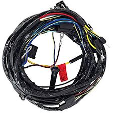 amazon com 1966 ford mustang headlight wiring harness from firewall image unavailable image not available for color 1966 ford mustang headlight wiring harness