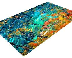 teal and orange area rug popular rugs burnt brown for 1
