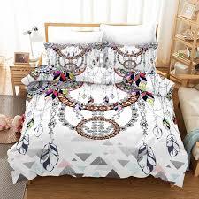 3d dreamcatcher print bedding set duvet
