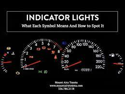 indicator lights what to know and why