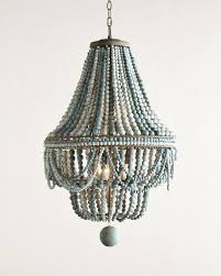 wood beaded chandelier antique farmhouse for modern house wooden