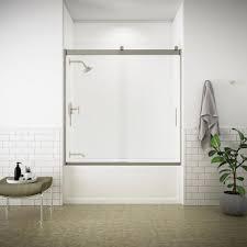 bathtub doors bathtubs the home depot inside glass bathtub doors frameless