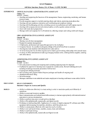 Administrative Office Assistant Resume Samples Velvet Jobs