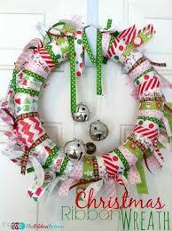 Christmas Ribbon Wreath - The Ribbon Retreat Blog