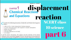 ncert class 10 science chapter 1 chemical reaction and equation part 6