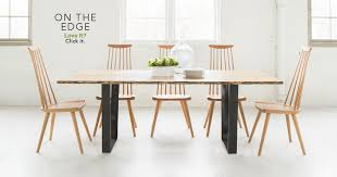 modern furniture pictures. live edge dining modern furniture pictures