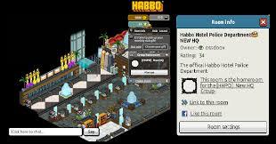 Habbo Group Badge Designs Habbo Hotel Police Department Fansite 2012