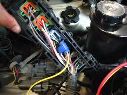how to vg30e electric radiator fan conversion infamous nissan this is the 12 volt power to the derale unit it goes to the yellow wire on the derale