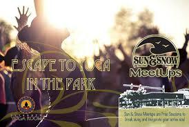 park sun snow plymouth yoga room