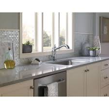 Delta Chrome Kitchen Faucets Top Delta Cassidy Kitchen Faucet Pbh Architect