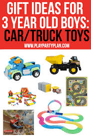 Three year old boy toys