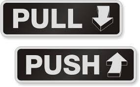 pull door sign. Beautiful Pull Zoom Price Buy On Pull Door Sign S
