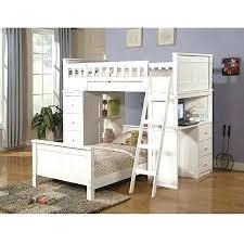Loft Bed Over Desk Bunk Bed With Desk Dresser And Trundle
