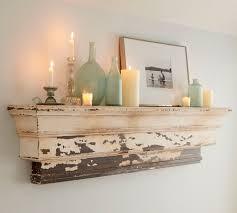 Pottery Barn Wall Shelves Traditional Wooden Wall Shelf Decorative Ledge Potterybarn