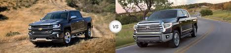 2018 Chevy Silverado 1500 vs 2018 Toyota Tundra | Compare Specs