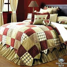 rustic quilt sets country rustic cabin quilt sets
