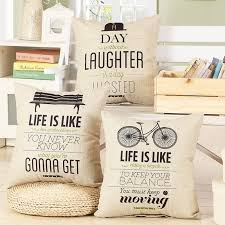 Small Picture Aliexpresscom Buy Fashion Letter Cushion No Inner Design