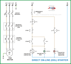 3 phase motor starter circuit diagram best secret wiring diagram • dol wiring diagram wiring diagrams scematic rh 86 jessicadonath de 3 phase motor control wiring diagram 3 phase dol starter circuit diagram